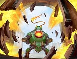 Explosive Entrance